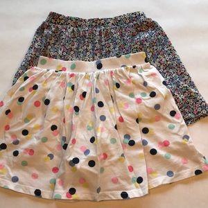 2 Carter's Skirts